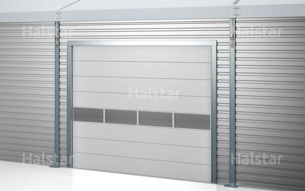 Brama_segmentowa manualna lub elektryczna